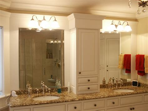 master bathroom cabinet ideas with luxury bathroom with