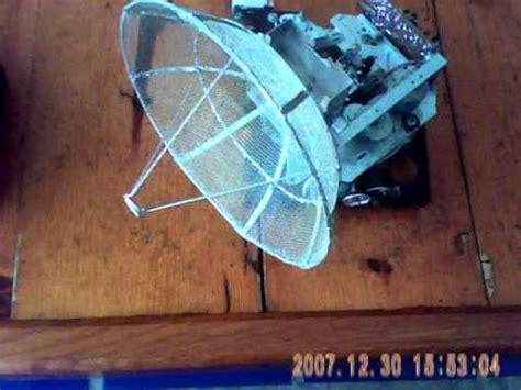 Antena Farabola maqueta modelo de una antena parab 211 lica artesanal