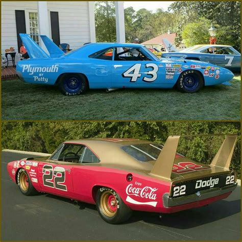 Richard Petty 43 by 43 Richard Petty S Plymouth Superbird Or 22 Bobby