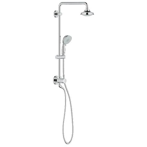 Grohe Freehander Shower by Grohe Freehander Shower System Starlight Chrome