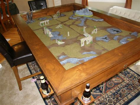 building a gaming table build a custom gaming table igeekout