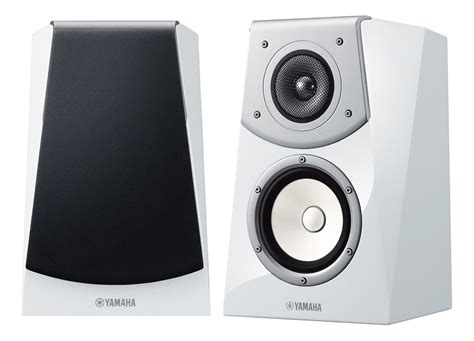 yamaha soavo ns b901 gloss white bookshelf speakers pair