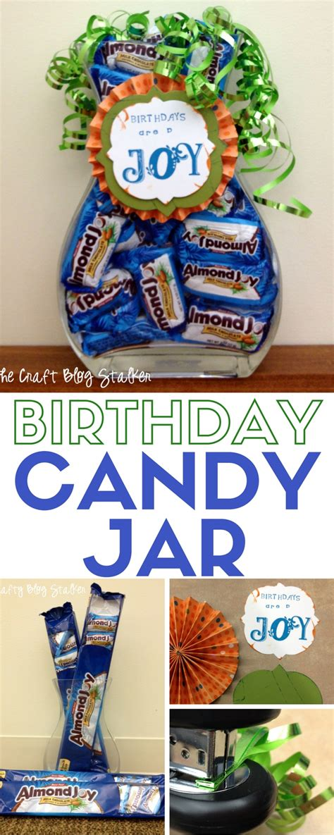 Handmade Gifts For Someone Special - how to make a diy birthday jar the crafty stalker