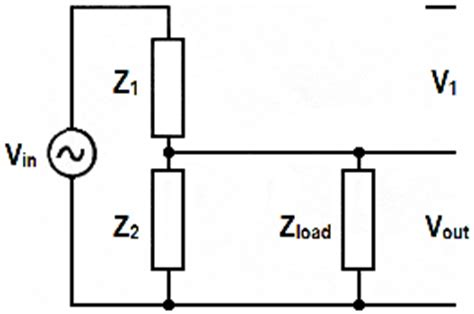 resistor divider impedance calculator voltage divider loaded and open circuit db calculator ding volts potentiometer circuit