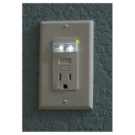 outdoor light with electrical outlet gfci outlets horizontal electrical outlets home design