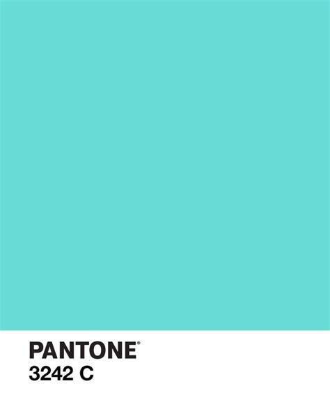 pantone s pantone 3242 c color design aqua tiffany s