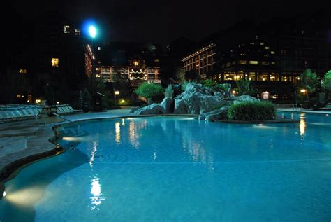 pool at night panoramio photo of wilderness lodge pool at night