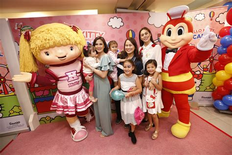 jollibee party themes hello kitty jollibee launches most adorable carnival themed party with