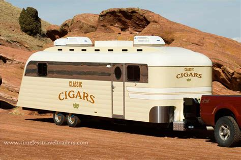westcraft trailer built into a luxury cigar lounge by
