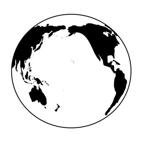 imagenes en blanco y negro de la tierra illustration gratuite terre noir et blanc monde image