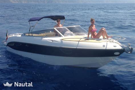 motorboot italien motorboot chartern cranchi 27 csl im porto mirabello