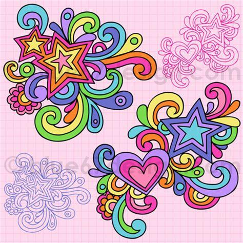 free doodle design elements notebook doodle design elements vector illustr