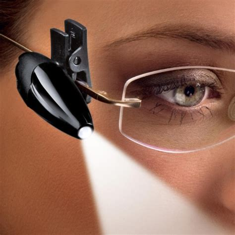 night owl reading light clip on led reading light for glasses