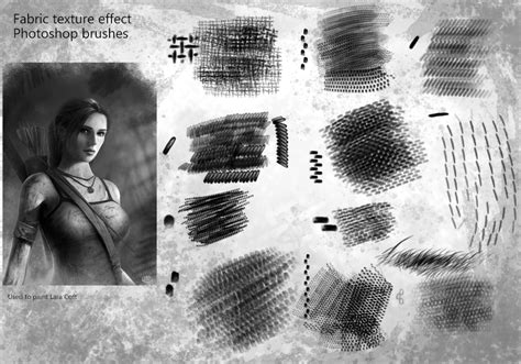 material design effect photoshop fabric texture effect photoshop brushes by brushbitch on