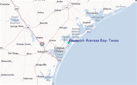 where is rockport texas on a map rockport aransas bay texas tide station location guide