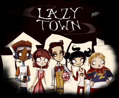 lazy town trixie disegni da colorare gratuiti