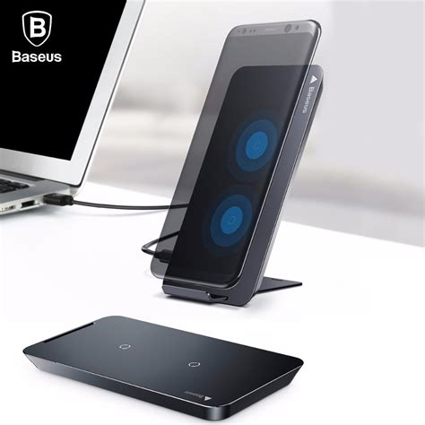 baseus wireless charger for iphone x 8 plus samsung note 8 s8 s7 s6 edge phone charger qi