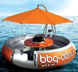 Patio Boats For Sale Bbq Donut Boat Floating Party And Grill Captivatist
