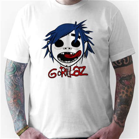 T Shirt Gorillaz 3 shop gorillaz shirt on wanelo