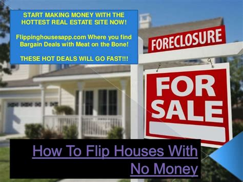 how to flip a house with no money house plan 2017