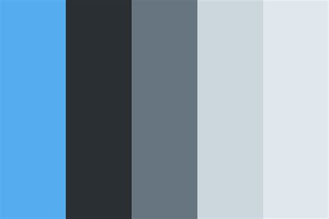 twitter color twitter ui color palette