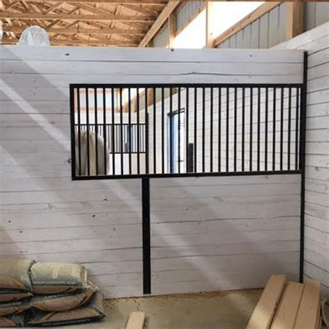 horse stall grill sections 91 quot oxford grillwork section ramm horse fencing stalls