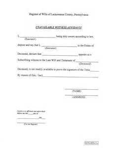 witness affidavit form template best photos of witness affidavit template sle witness