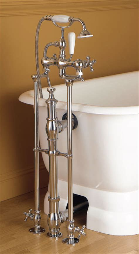 clawfoot bathtub fixtures floor mounted clawfoot tub faucet