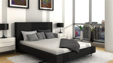 black and white modern bedrooms best design wallpapers black grey white modern bedroom