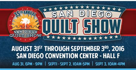Quilting Classes San Diego by 2016 San Diego Quilt Show