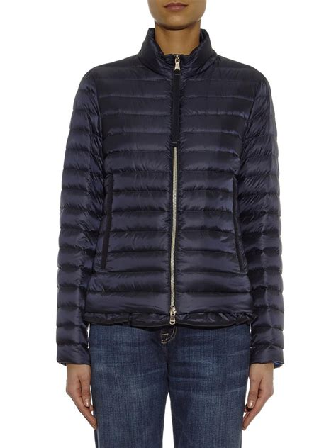 Lightweight Quilted Jackets by Moncler Blein Lightweight Quilted Jacket In Blue Lyst