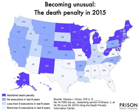 map of us states that the penalty justice breyer argues the penalty isn t just cruel