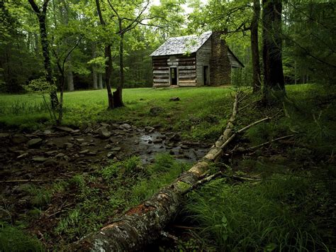 Cabins Smoky Mountains Tennessee by Nature Shields Cabin Cades Cove Great Smoky Mountains National Park T