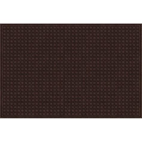 Recycled Door Mats Trafficmaster Brown 48 In X 72 In Synthetic Surface And