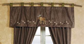 wildlife window curtains rustic curtains cabin window treatments
