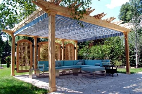 pergola ideas for privacy 40 ideas for pergola in the garden sun protection and