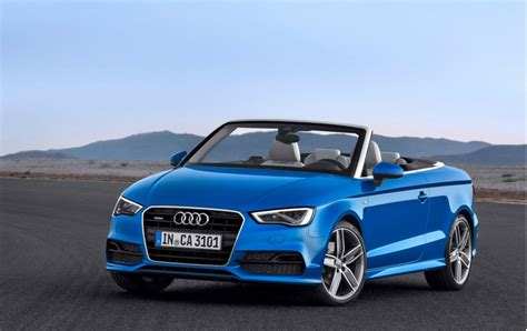 2015 audi a3 convertible 2015 audi a3 cabriolet revealed confirmed for u s