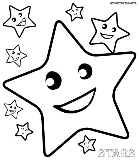 star coloring pages coloring pages to download and print