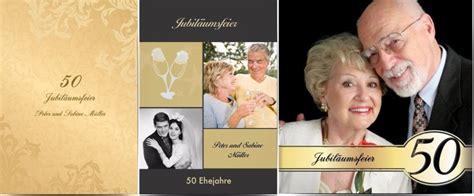 Einladung Hochzeit Wann by Goldene Hochzeit Feiern
