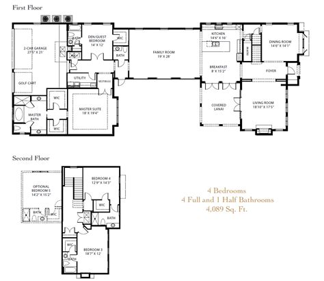 Lake Nona Golf And Country Club New Luxury Homes On The Lake Nona Floor Plans