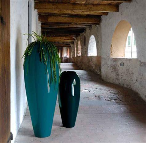 vasi in resina per esterni moderni vasi da giardino bv resina