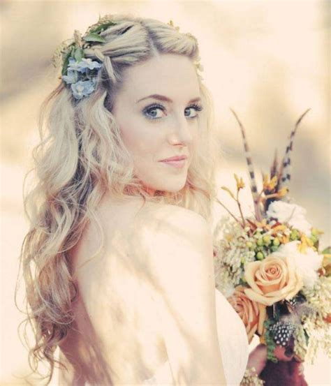 5 Inspired Wedding Hairstyles by Bohemian Wedding Hairstyles For Hair Happyeverafter