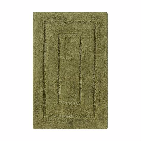 Home Decorators Collection Newport Moss 24 In X 40 In Moss Bathroom Rug