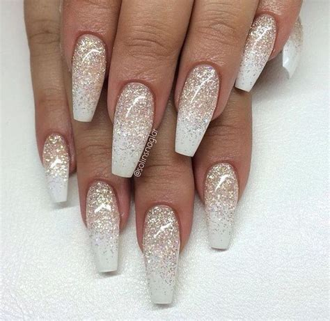 All Nail Designs by Top 60 Gorgeous Glitter Acrylic Nails