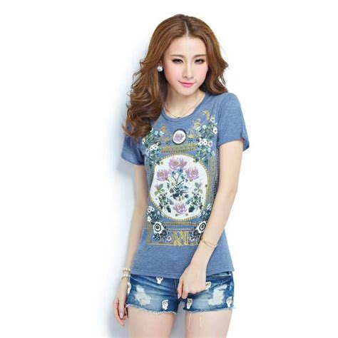 Kaos Fashion Import 47 kaos wanita import t1939 moro fashion