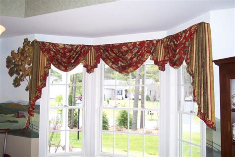 drapery swags and jabots curtains ideas jabot swag curtains
