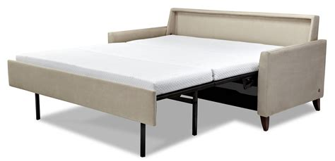 comfortable sleeper couch hannah comfort sleeper a comfortable modern sleeper sofa