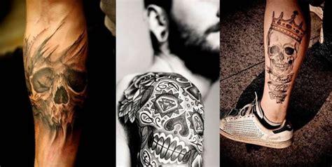 tatuaggi fiori per uomo tatuaggi con teschio per l uomo i disegni pi 249 cool foto