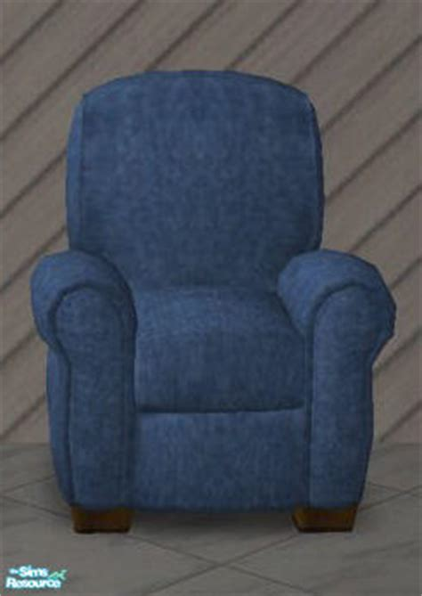 Denim Recliner liubluejeans denim recliner