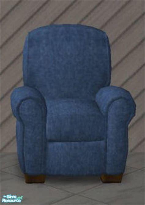 liubluejeans denim recliner